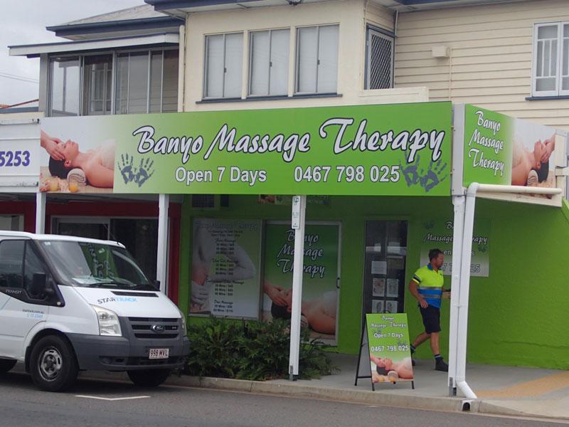 shop front sign