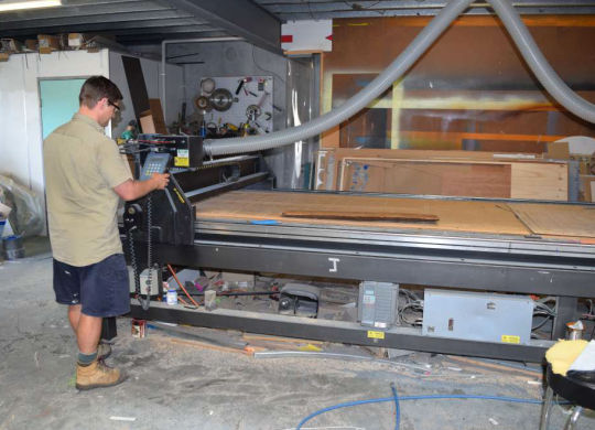 The Multicam CNC Router