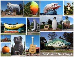 Images of Australian'Big Things'