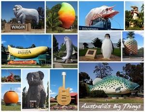 Images of Australian 'Big Things'