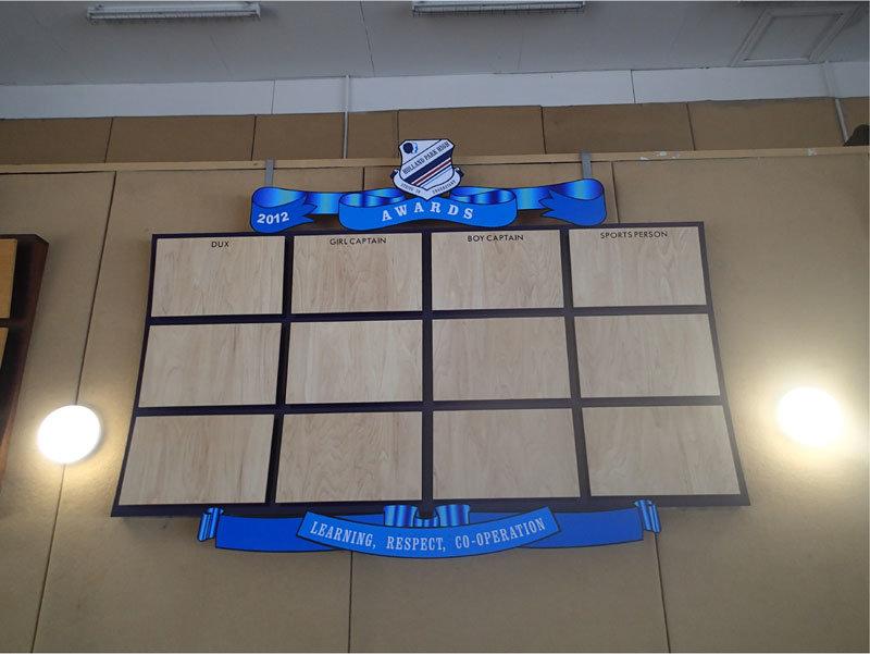 New Honour Board