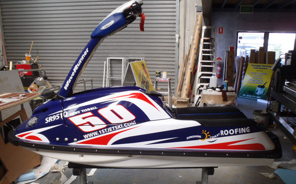 Jet Ski Signs and Wraps